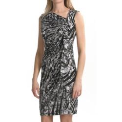 Travel by Tribal Sportswear Ruffled Jersey Dress - Sleeveless (For Women)