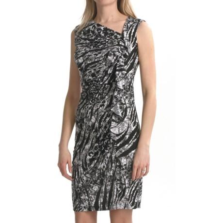 TRIBAL Travel by Tribal Sportswear Ruffled Jersey Dress - Sleeveless (For Women)