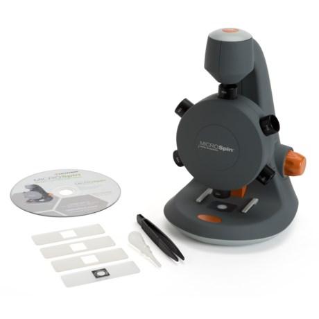 Celestron Microspin Digital Microscope - 2MP, 600x