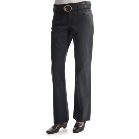 Tribal Sportswear Subtle Stripe Pants - 5-Pocket (For Women)