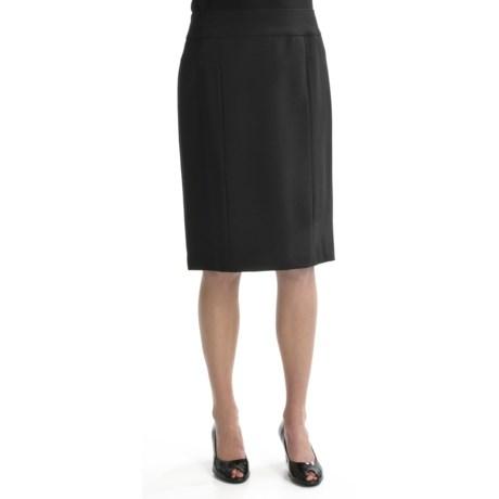 Tribal Sportswear Straight Skirt - Seam Detail (For Women)