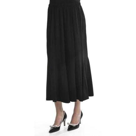 Travel by Tribal Sportswear Long Paneled Skirt - Stretch (For Women)