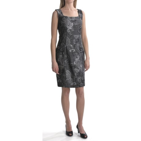 Travel by Tribal Sportswear Brocade Knit Dress - Sleeveless (For Women)