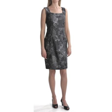 Travel by Tribal Sportswear Brocade Knit Dress - Sleeveless (For Women)