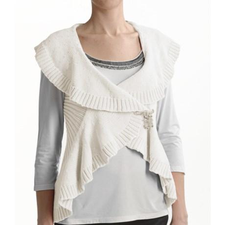 Tribal Sportswear Cotton Wrap Vest (For Women)