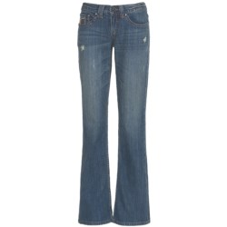 Cruel Girl Sadie Jeans - Bootcut, Embellished Back Pockets (For Women)