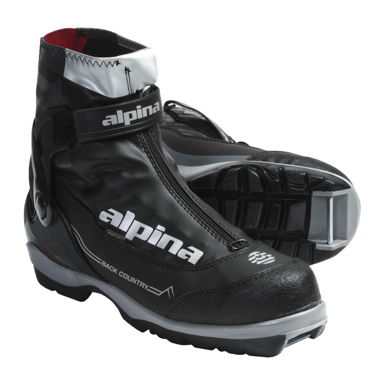 Alpina BC 20 Plus Cross-Country Ski Boots (For Men And