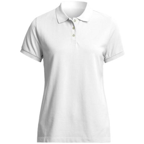 Specially made Pique Cotton Polo Shirt - Short Sleeve (For Women)