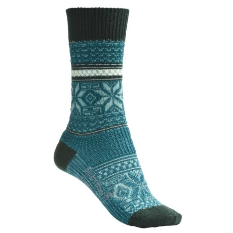 SmartWool Snowflake Pop Socks - Merino Wool (For Women)