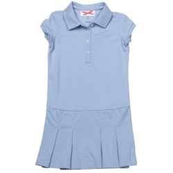Pique Cotton Dress - Short Sleeve (For Girls)