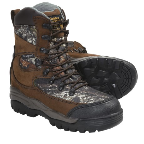 Golden Retriever 4100 Hunting Boots - Waterproof, Insulated (For Men)