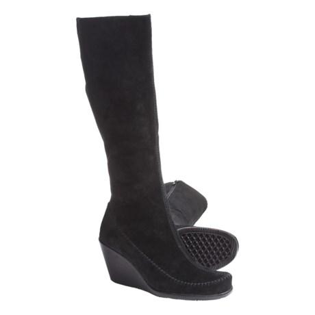 Aerosoles Gather Round Wedge Boots - Suede (For Women)