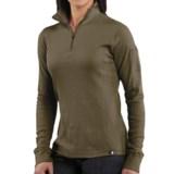 Carhartt Thermal Knit Shirt - Zip Neck (For Women)