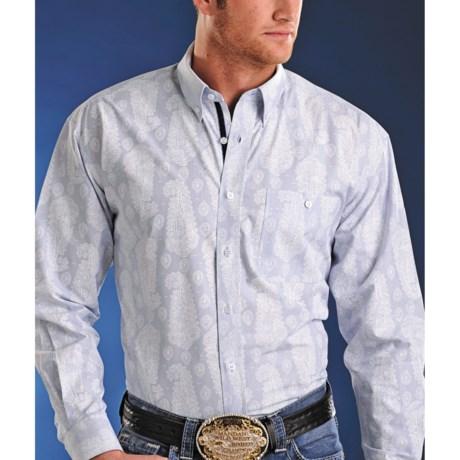 Rough Stock by Panhandle Slim Beragamo Shirt - Long Sleeve (For Men)