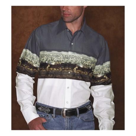 Panhandle Slim Cattle Herd Shirt - Long Sleeve (For Men)