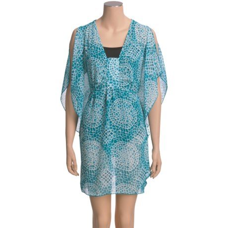 Laundry by Design Chiffon Cover-Up - Short Sleeve (For Women)