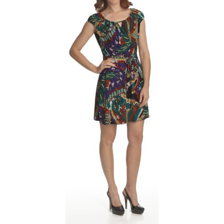 Laundry by Design Jersey Wrap Dress - Short Sleeve (For Women)