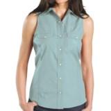 Carhartt Poplin Snap-Front Shirt - Sleeveless (For Women)