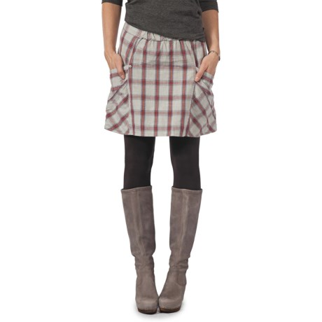 Horny Toad Savory Plaid Skirt - Organic Cotton (For Women)