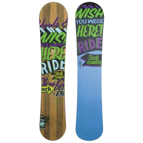 Ride Snowboard Slackcountry UL Snowboard