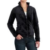 White Sierra Cozy Fleece Jacket - 200 wt. (For Women)