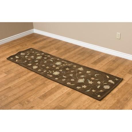 """Kaleen Kashmir Floor Runner - 2'3""""x8', Wool"""