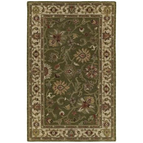"""Kaleen Khazana Collection Area Rug - 7'6""""x9', Wool"""
