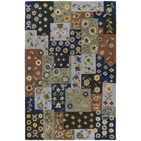 Kaleen Khazana Patchwork Rug - 8x11', Wool
