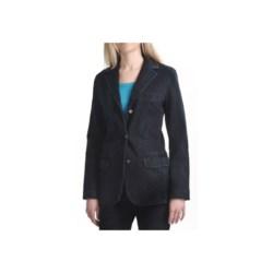 Zenim Knit Denim Blazer - Stretch Cotton (For Women)