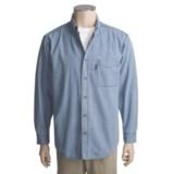 Woolrich Denver Denim Shirt - Long Sleeve (For Tall Men)