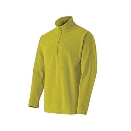 Mammut Yukon Trim Pullover Shirt - Fleece, Zip Neck (For Men)