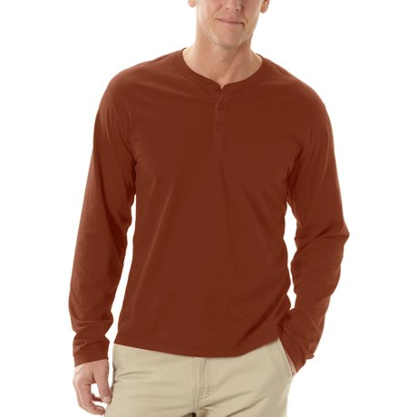 Horny Toad Smooth Henley Shirt - Butterknit, Long Sleeve (For Men)