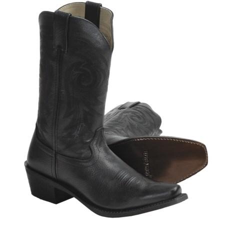 Durango Gambler Cowboy Boots - Leather, Snip Toe (For Men)