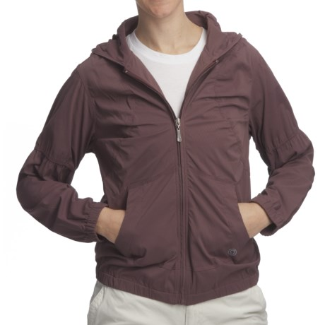 Gramicci Raven Morgandy Ripstop Stretch Jacket - UPF 30, Unlined (For Women)