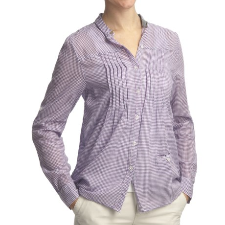 Gramicci Mica Chiara Plaid Shirt - Long Sleeve (For Women)