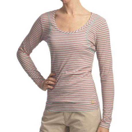 Gramicci Moon Naira Jersey Shirt - Long Sleeve (For Women)