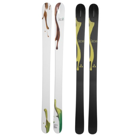 Fischer Koa 98 BC TT Alpine Skis - X13 Fat 115 Bindings (For Women)