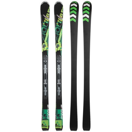 Fischer Motive 76 Powerrail Alpine Skis - RS 11 Powerrail Bindings