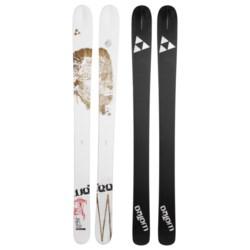Fischer Watea 114 BC TT Alpine Skis - X13 Fat 115 Bindings