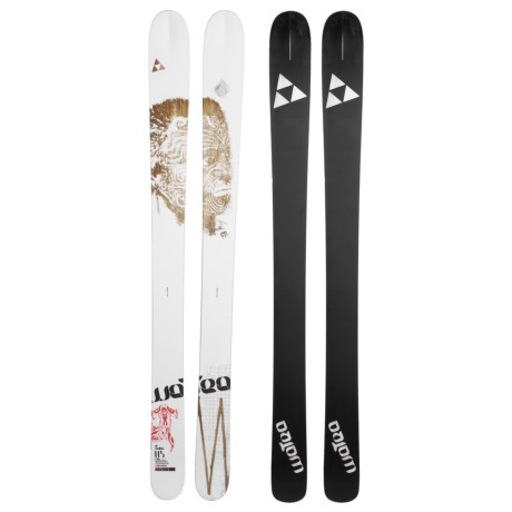 Fischer Watea 114 BC TT Alpine Skis - X13 Fat 115 Bindings