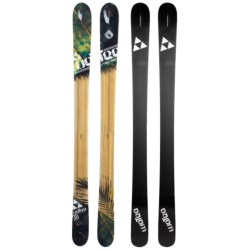 Fischer Watea 98 BC TT Alpine Skis - All-Mountain, X13 Fat 115 Bindings