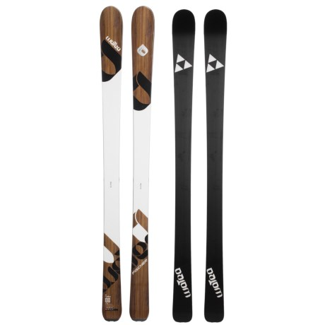 Fischer Watea 88 Alpine Skis - All-Mountain, X13 Wide 97 Bindings