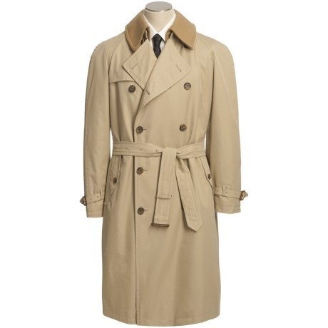 Sanyo Oryx Belted Trench Coat - Removable Liner (For Men)