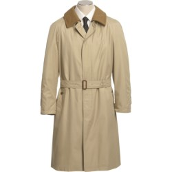 Sanyo Sable Belted Trench Coat - Removable Liner (For Men)