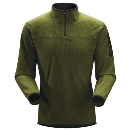 Arc'teryx Caliber Pullover - Polartec® Classic Microfleece, Zip Neck (For Men)