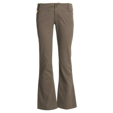 Lole Trek Pants - Stretch Bedford Cotton, UPF 50+ (For Women)
