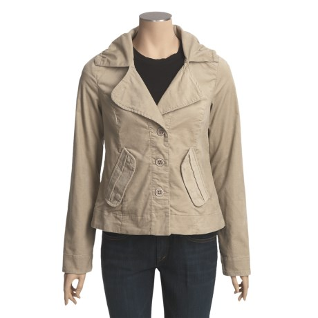 Lole Bonnie Jacket - Stretch Mini Cord, UPF 50 (For Women)