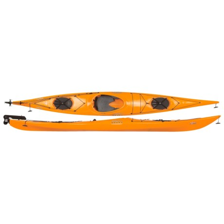"Necky Eliza Day Touring Kayak with Rudder - Sit-In, 15'4"" (For Women)"