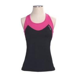 Saucony Ignite LT Shimmel Shirt - Shelf Bra, Racerback, Sleeveless (For Women)