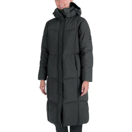 Kamik Puff Long Down Coat - 595 Fill Power (For Women)